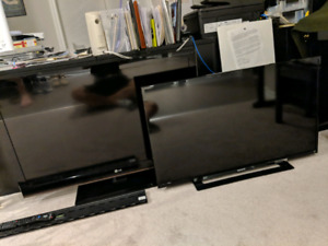 40 inch and 42 inch LCD TV's