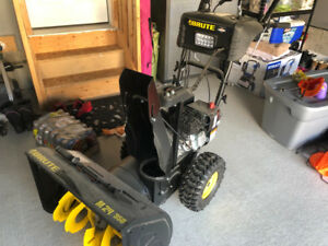 "Brute 24"" snowblower- absolutely brand new"