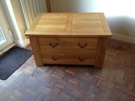 Oak Coffee Table/Chest