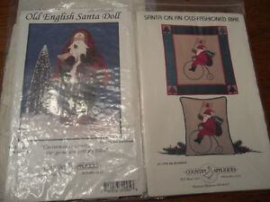 Christmas craft and quilt patterns - 3 for $10
