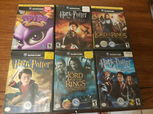 6 gamecube games for $30