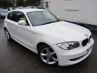 2011 BMW 1 SERIES 116D SPORT IN WHITE HATCHBACK DIESEL
