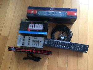 Contrôle Chauvet lumière chaser , switch, dmx , DJ Karaoke Disco