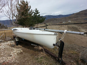 Sail boat and Trailer