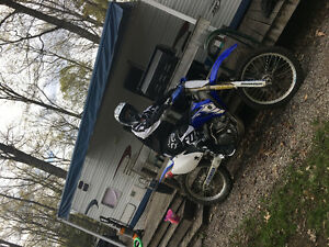 2007 YZ450F trade for 250 2 stroke
