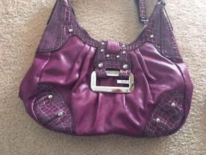 Guess Purse and Wallet (Purple)