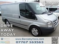 2011 11 FORD TRANSIT T260 SWB LIMITED AIR CON CRUISE SILVER