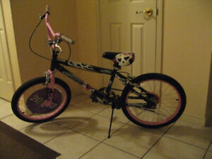 """16"""" Supercycle Illusion Girls BMX Bike, / 3 wheel Huffy Scooter"""