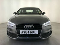 2014 AUDI A3 S-LINE DIESEL LEATHER INTERIOR £20 ROAD TAX AUDI SERVICE HISTORY