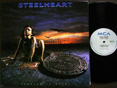 STEELHEART - Tangled in Reins [ 1992 Korea Orig 1st Vinyl ] EX w/Insert