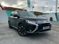 2018 Mitsubishi Outlander 2.0h 12kWh 4h CVT 4WD (s/s) 5dr SUV Petrol Plug-in Hyb