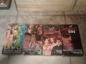 WWF VHS Tapes ($25 Dollars Each) (Ask For Negotiable Price)