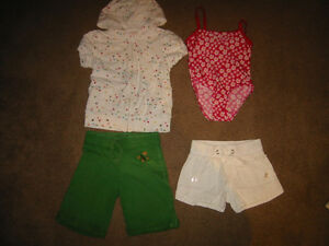 Girl Size 5 Shorts, Capri's and Skirts