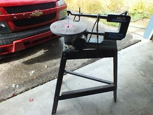 """Delta 16"""" Scroll Saw with stand"""