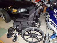 RECLINING WHEELCHAIR WITH ROHO CUSHION