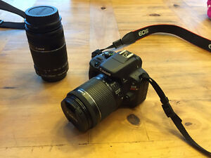 Canon Rebel DSLR - SL1 / 55-250 zoom lens (NEW)