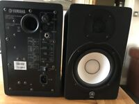 YAMAHA MONITOR SPEAKERS HS50M PAIR