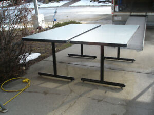 """Tuff Edge"" Tables for Sale $50 Each. Delivery Available."