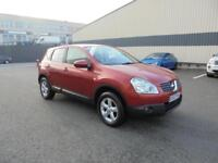 2008 Nissan Qashqai 1.6 2WD Acenta Finance Available