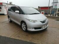 TOYOTA ESTIMA 2.4 PETROL HYBRID 2007(07) ,SUEDE LEATHER,5 PACKAGE, FINANCE AVAIL