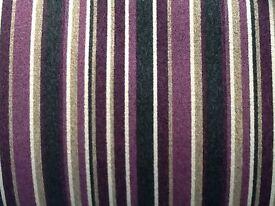 Purple stripy carpet brand new 12ft by 13ft