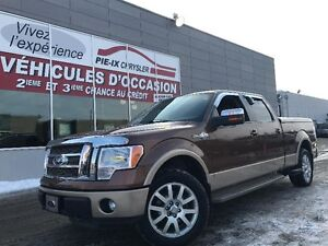 Ford F-150 4WD SuperCrew+KING RANCH+MAGS+NAV+WOW! 2011