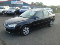 06 FORD MONDEO 2.0 TDCI LX 130 6 SPEED BLACK