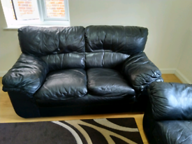 Sofa leather two seater