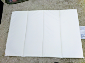 Ventiflow Foam travel cot mattress. Excellent condition.