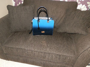 Grand Purse - Brand new - Blue ombre effect - 40$ firm London Ontario image 1