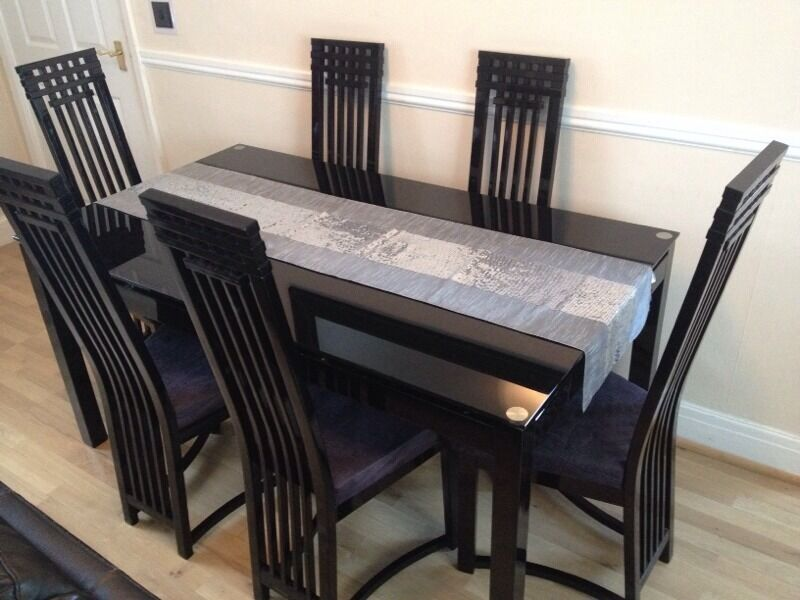 CASABELLA Dining Table Chairs