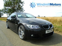 BMW 3 SERIES 2.0 320D M SPORT AUTOMATIC 2DR BLACK - STUNNING EXAMPLE - HUGE SPEC