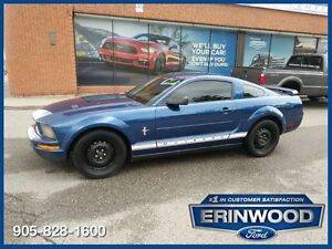 2007 Ford Mustang Coupe / PWR GRP / LTHR / SPOILER
