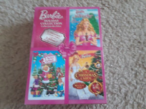 Barbie Holiday DVD Collection. 3 movies!