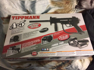 PRICE DROP! Tippmann A-5 paintball power pack