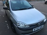 Vauxhall Corsa 1.2 petrol Automatic, 3 Previous owners, long MOT