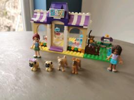 Lego Friends Puppy Daycare 41124 & Vet Car