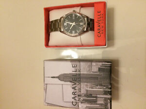 Caravelle New York watch. Never worn