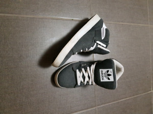 Adidias ST high tops size 9 US and Timberland boots size 8.5 US