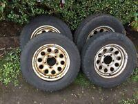 Jimny vitara tyres wheels all terrain