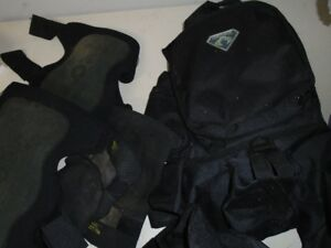 Paintball Vest and Pads   for sale