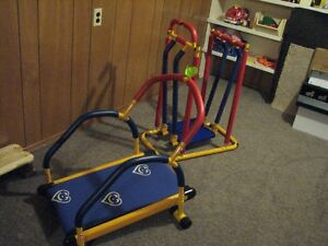walker and treadmill for the set. Call 306-653-4321