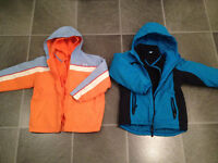 BOY'S & GIRL'S fall/winter/spring jackets size 6,7,8,10