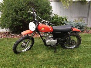 1976 Honda XR75