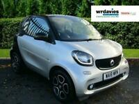 2018 smart fortwo coupe PRIME PREMIUM PLUS T Semi Auto Coupe Petrol Automatic
