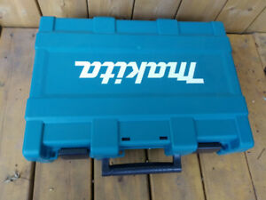 New! Makita Impact Driver & Drill Tool Case with bit storage