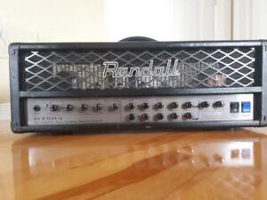 Tête d'ampli Randall RT503, 50Watts à lampes