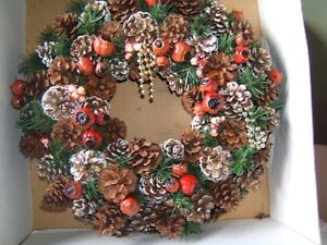 FALL/CHRISTMAS WREATH