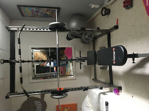Smith machine station d'exercice