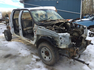 2006 F350 cab/frame with axles